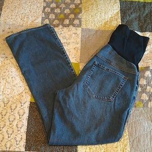 Liz Lange Maternity Over-belly Jeans